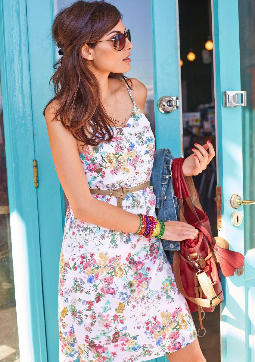 Sommerkleid Aniston Für Damen Kaufen  Baur Online Shop