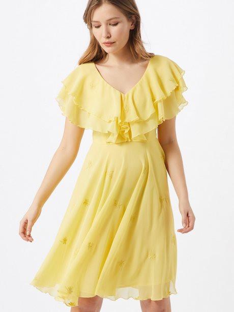 Sommerkleid Lang Halbarm