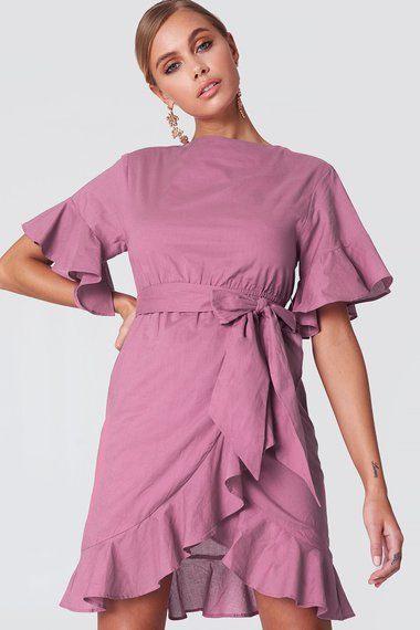 Sommerkleid Nakd  Kleid Mit Ärmel Alltagskleider