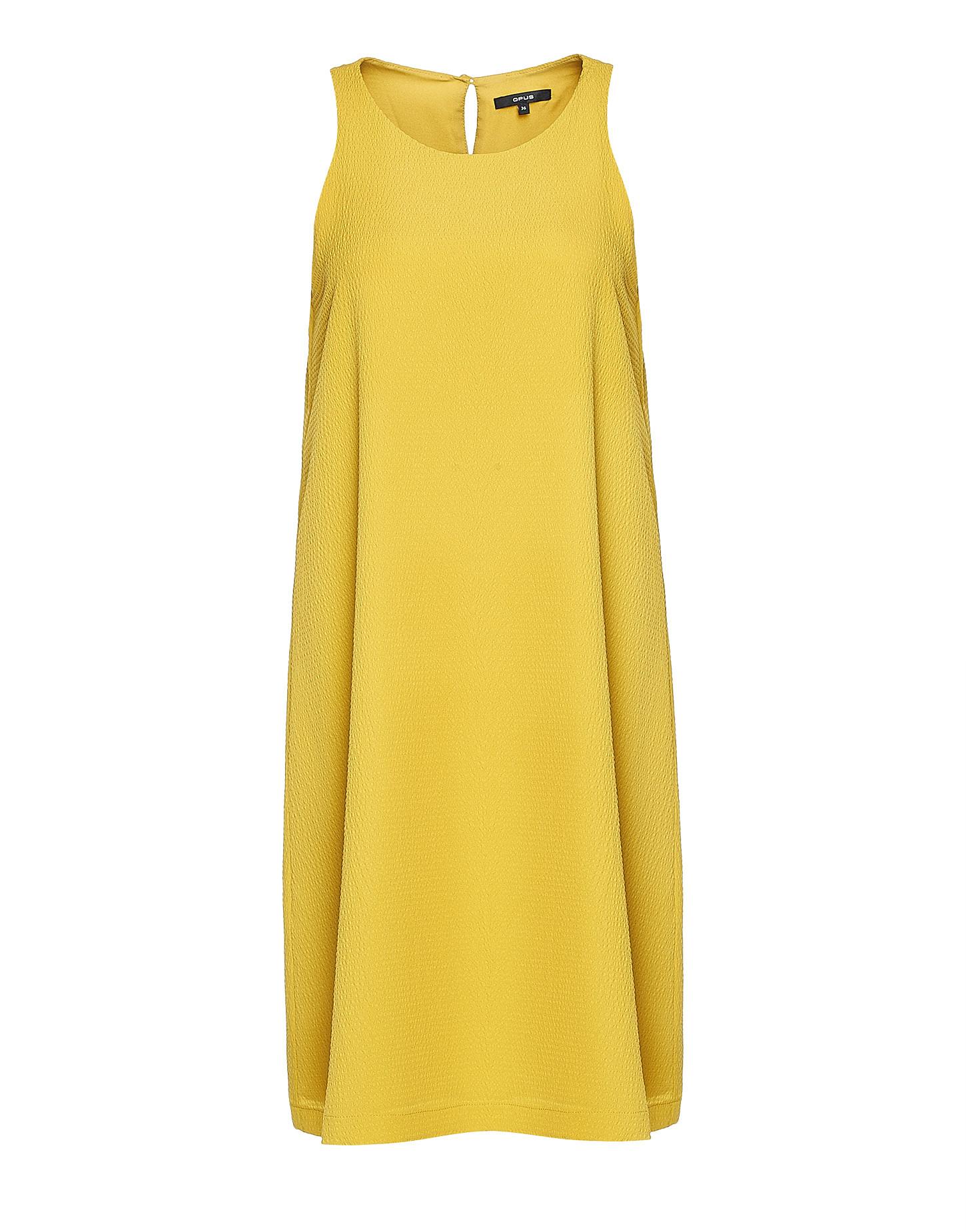 Sommerkleid Weria St Gelb Online Bestellen  Opus Online Shop