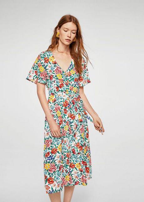 Sommerkleider Blumendruck