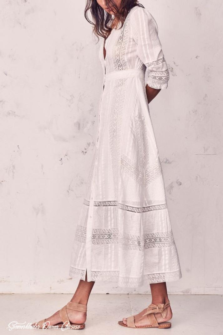 Sommerkleider Damen Chicsoso  Abendkleider