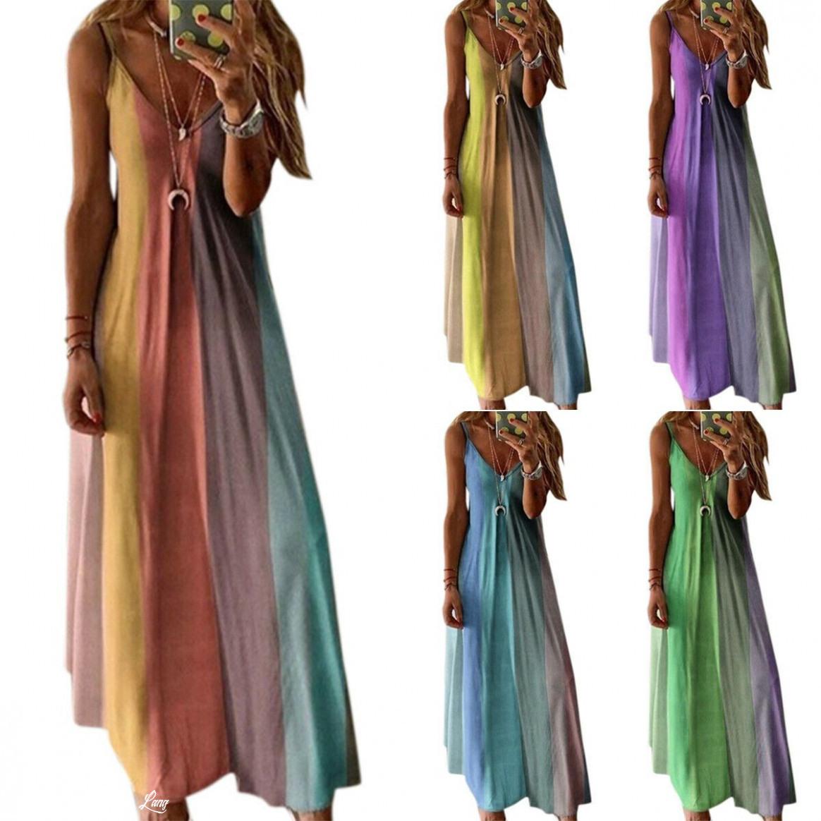 Sommerkleider Damen Lang  Abendkleider