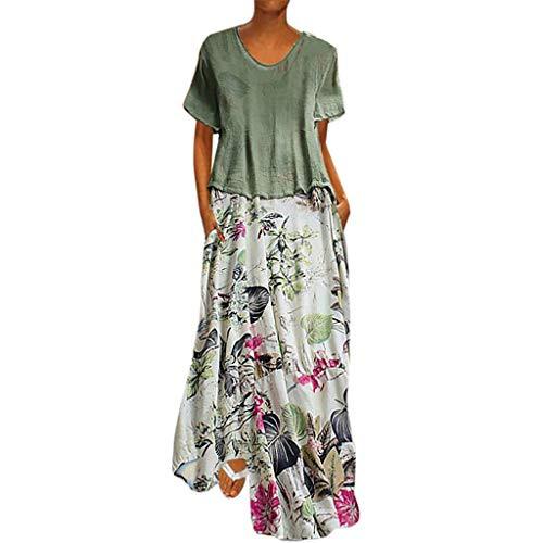 Sommerkleider Damen Langes Kleider Große Größenfrau