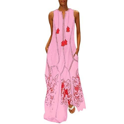 Sommerkleider Damen Langes Kleider Große Größenfrauen