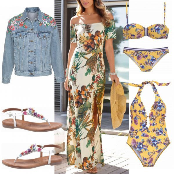 Sommeroutfits Lascana Kleid Bei Frauenoutfitsch Mode
