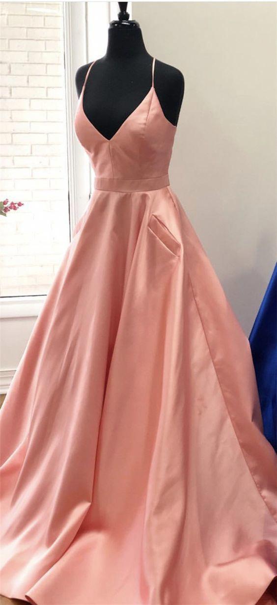 Sourcemak51004 Coral Cross Dresses Long Prom