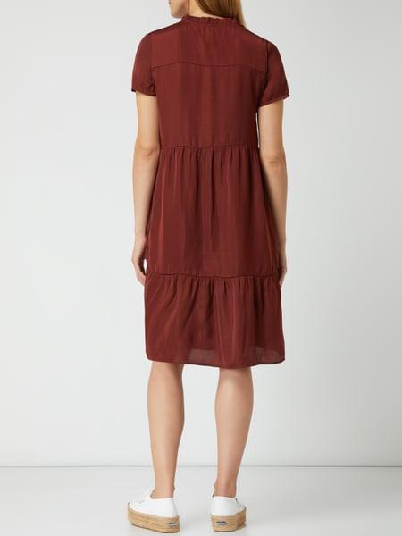 Soyaconcept Kleid Mit Raffungen In Rot Online Kaufen