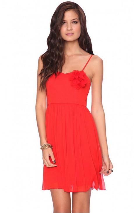 Spaghettiträger Kleid