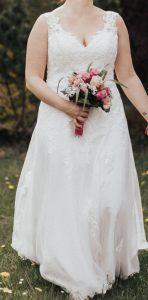 Spitzen Hochzeitskleid  Sposa Toscana  Brautkleid