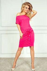 Sportliches Kleid  Neon Amarant 561  Numoco De