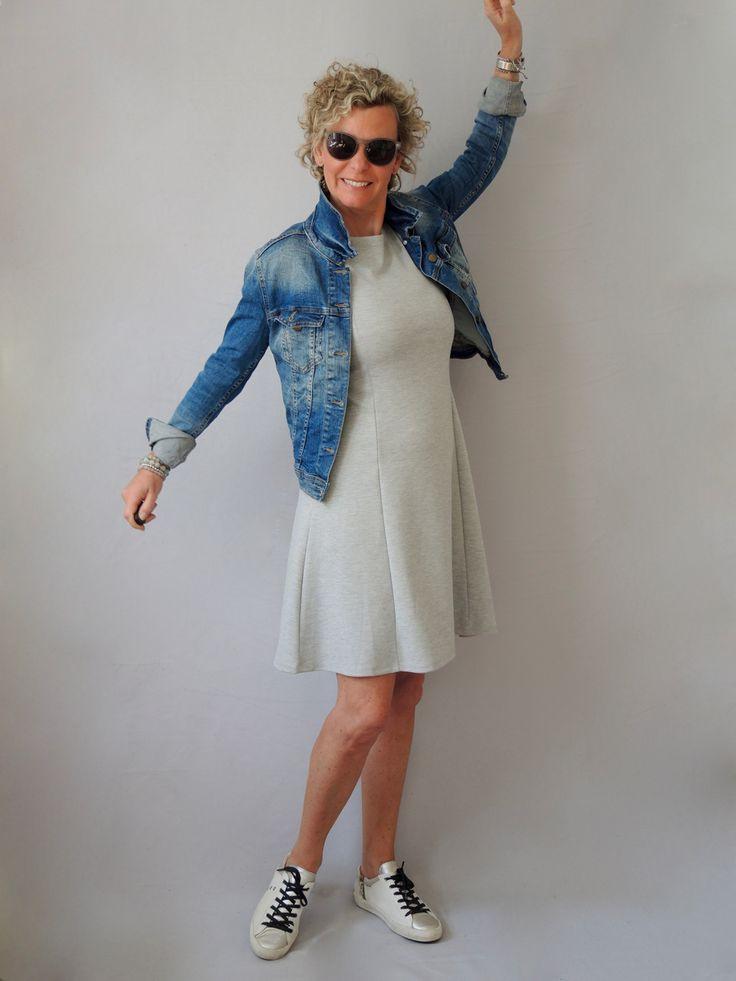 Sportliches Sommerkleid  Mode Für Ältere Damen