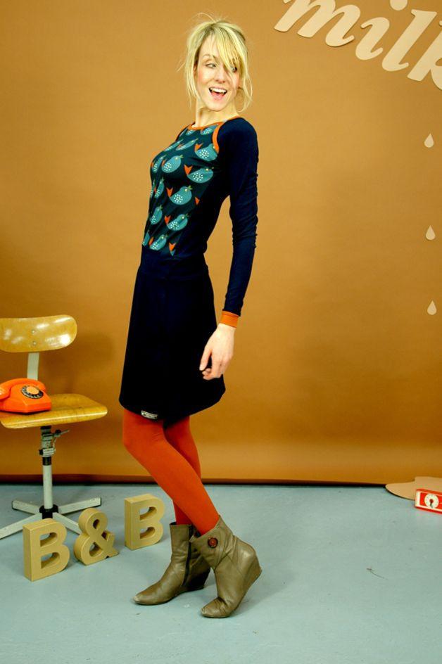 """Sporty Kleid """"Penny Lane"""" In Blau  Sportliche Kleider"""