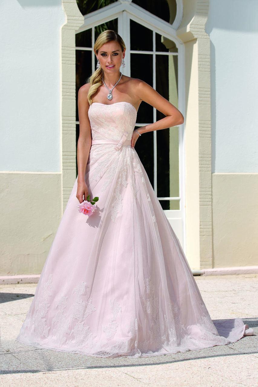 Standesamt Hochzeitskleid Rosa  Hochzeittrauungparty