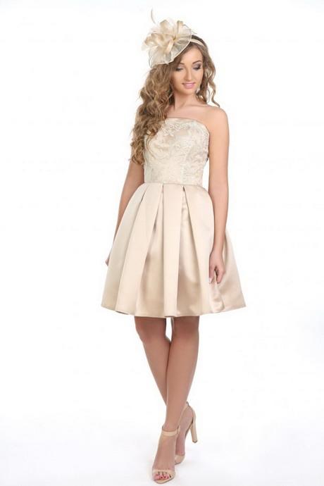 Standesamt Kleid Creme