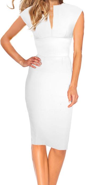 Standesamt Kleid Keira  Weiss  Drezz2Imprezz