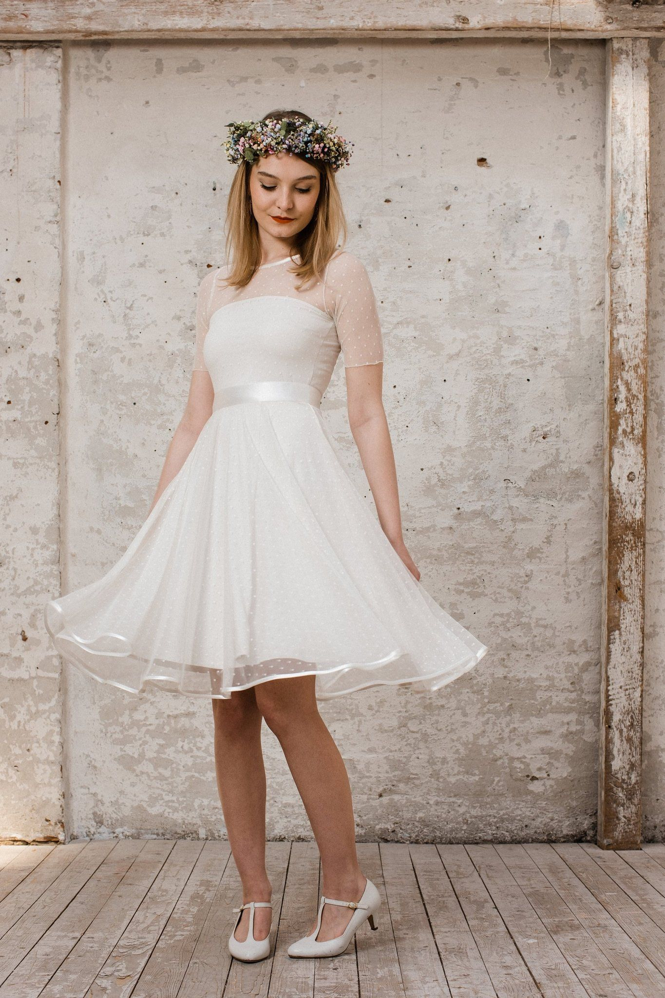 Standesamt Kleid Kurz Oder Lang  Mode Gehen