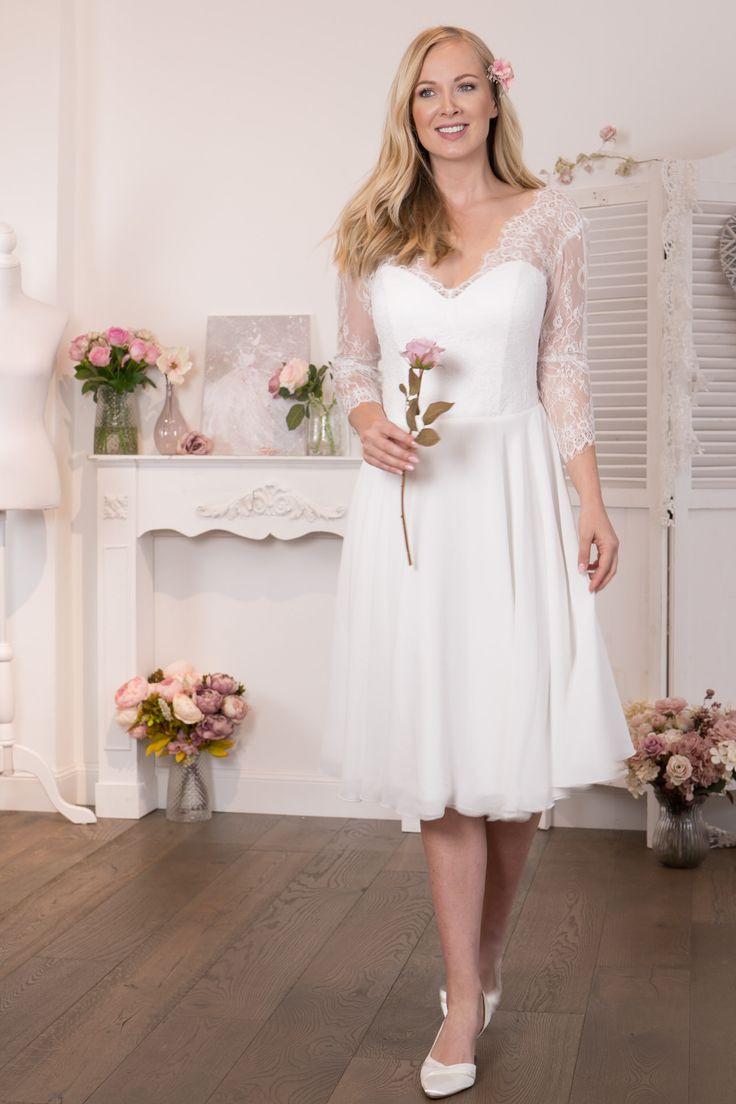 Standesamtkleider  Kleid Standesamt Lang