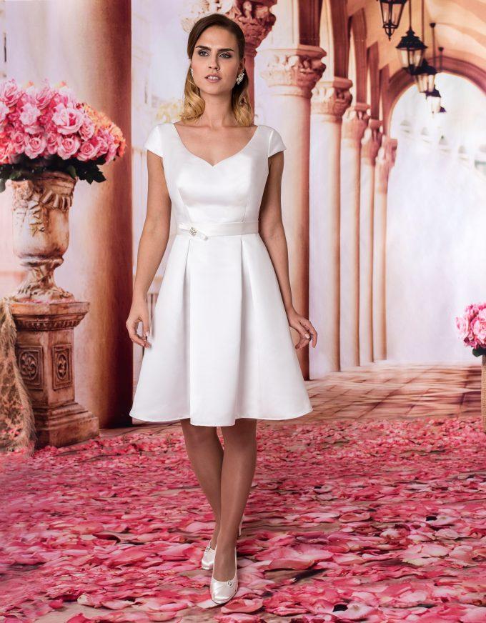 Standesamtkleider  Stilvolle Brautkleider Für Das Standesamt