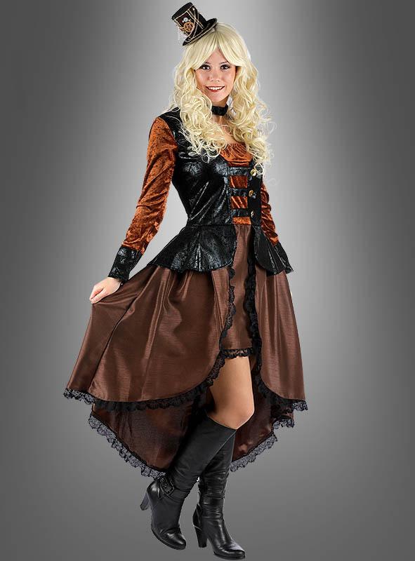 Steampunk Kleid Für Damen Bei » Kostümpalastde