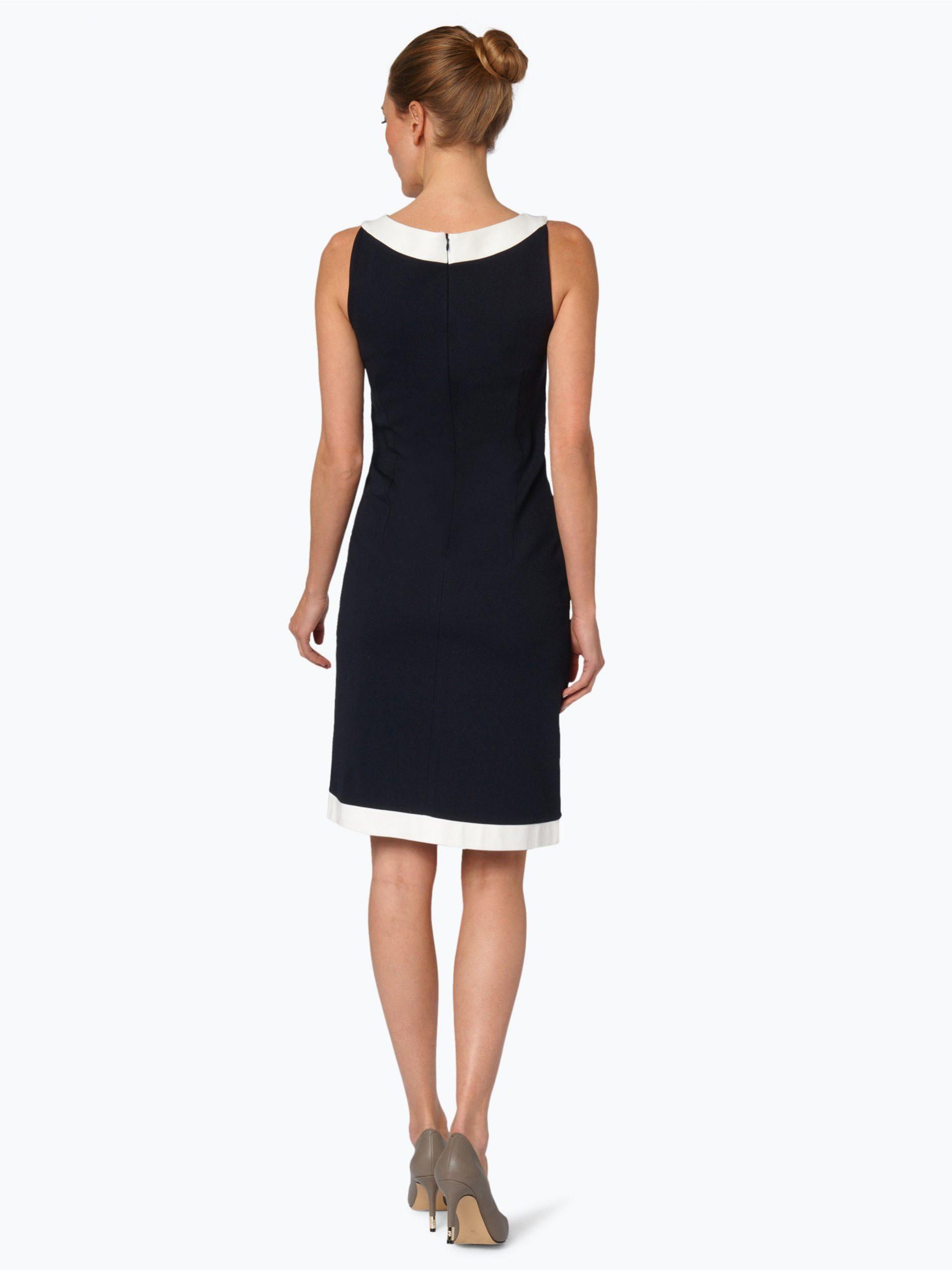 Stilvolle Comma Damen Kleid Blau Fotos  Bilder Und Bewertung