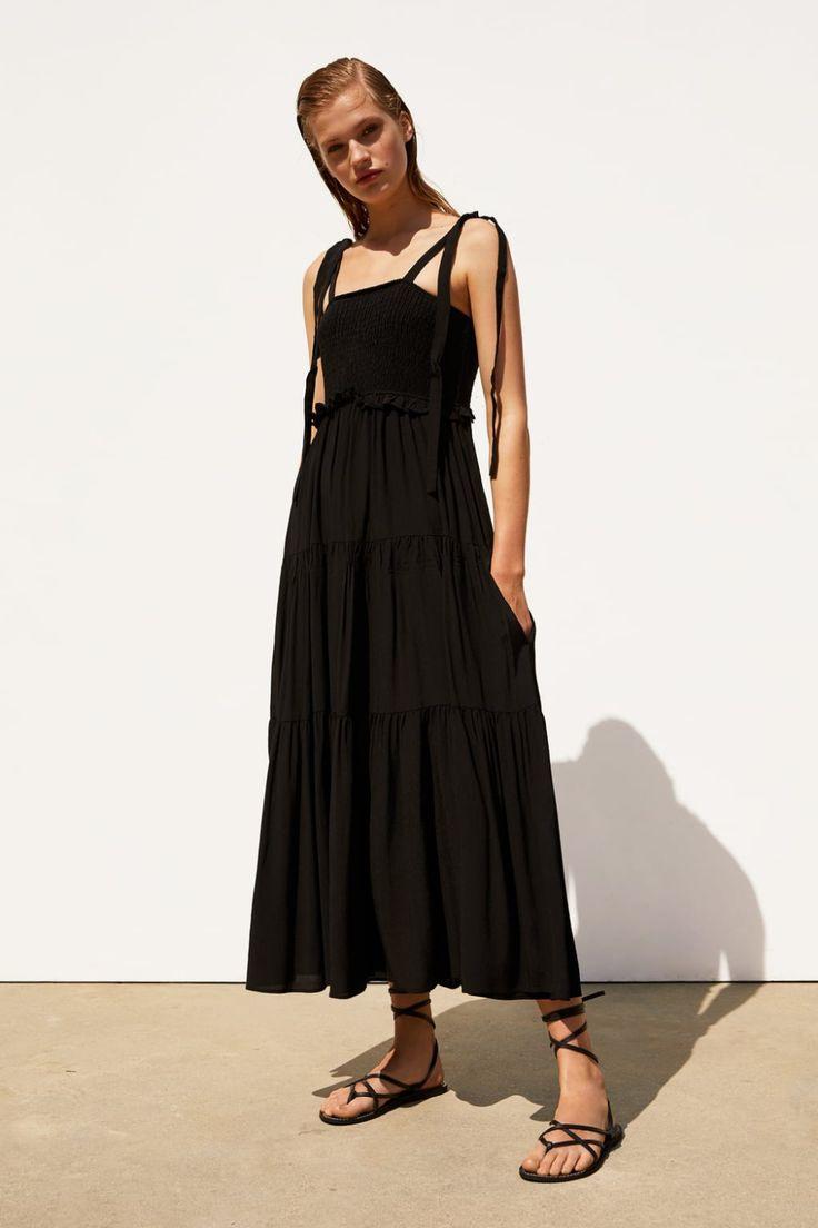 Strappy Ruffled Dress  View Alldresseswoman  Zara