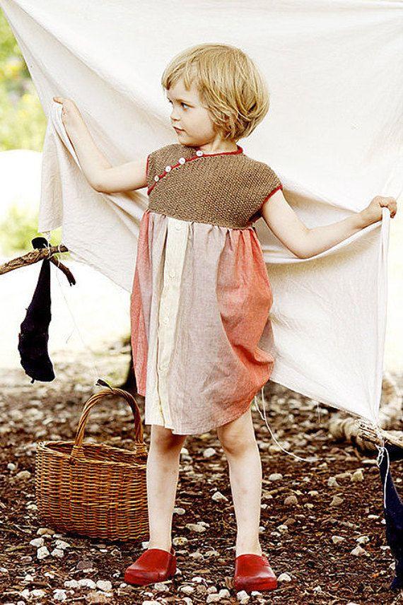 Strickanleitung Nähanleitung Kinderkleid Rosa Affiliate
