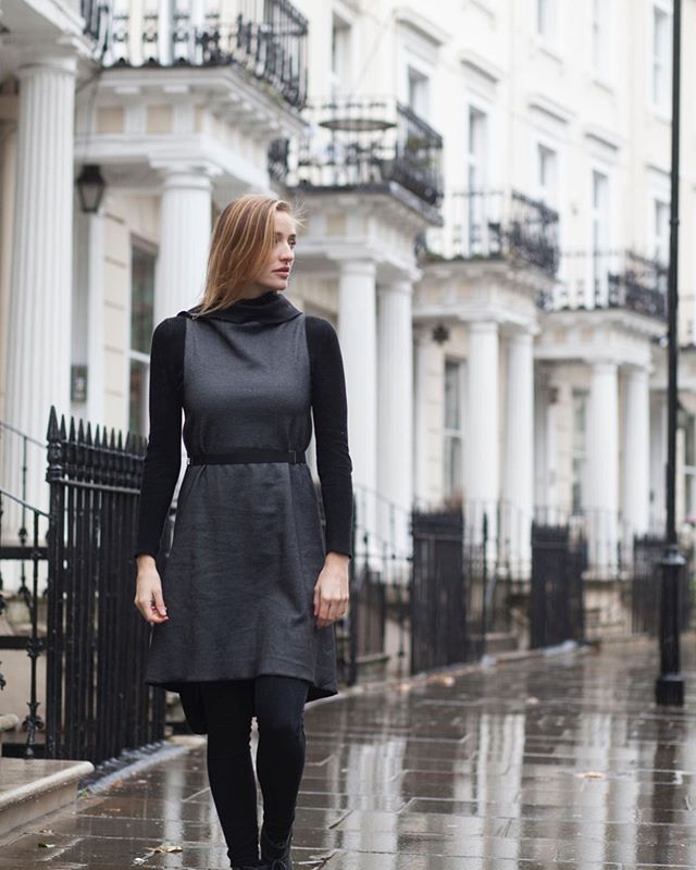 Strolling Through London With Kukla Black Beauty As A