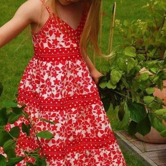 Stufenkleid Für Mädchenlorelei Schnittmuster Gr 86152