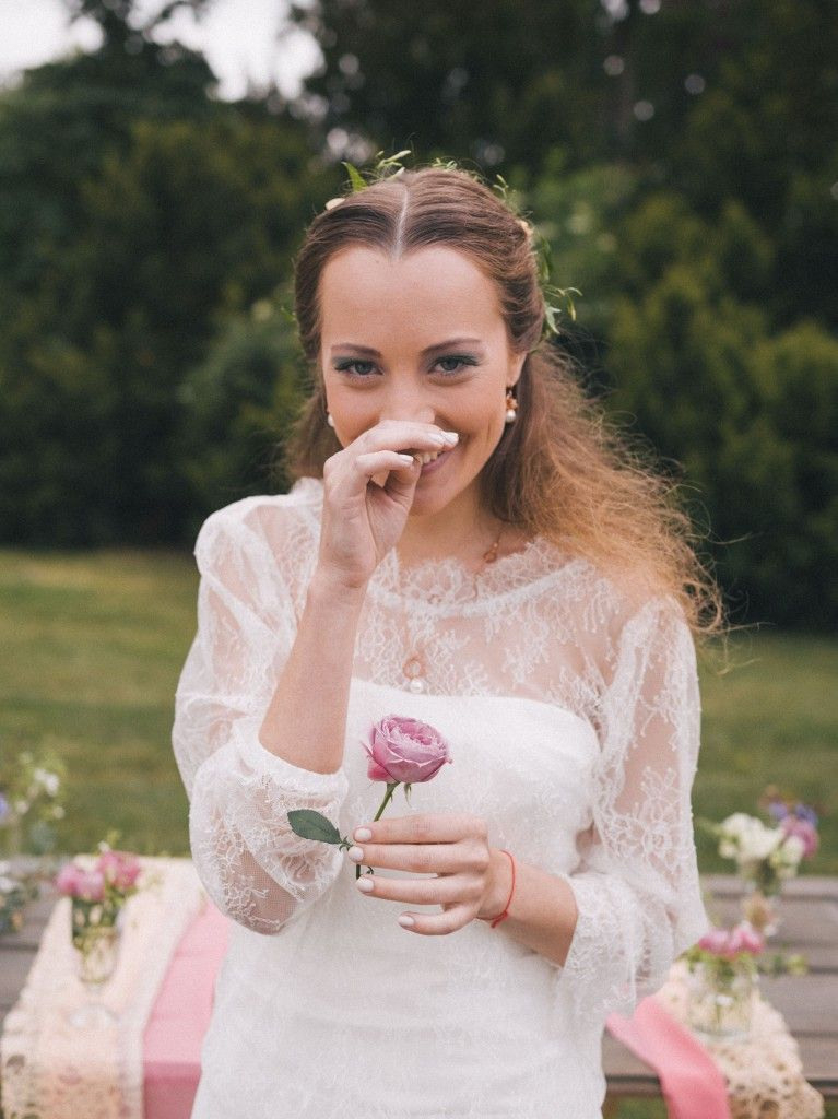 Styled Shooting Bohemian Meets Elegance Auf Dem Wedding
