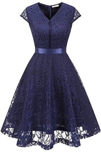 Suchergebnis Auf Amazonde Für Muadress Elegant Kleid Aus