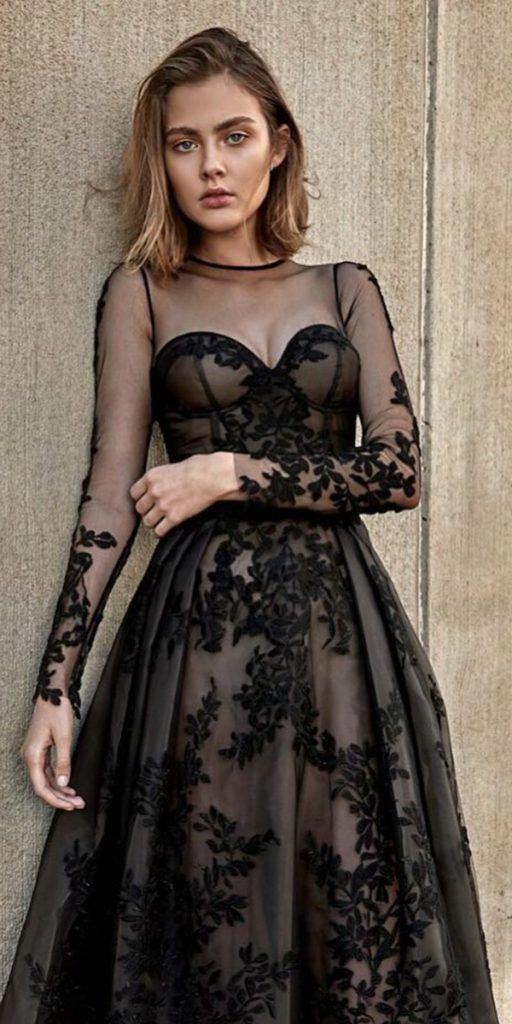 Summerweddingdress  Schwarzes Kleid Zur Hochzeit Gothic