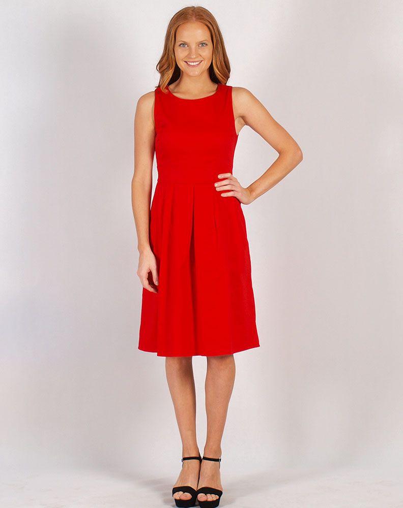Sunnygirl Fit N Flare Dress  Fit N Flare Dress Dresses