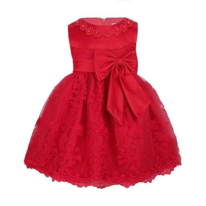 Super Süßes Baby Kleid Für Mädchen Sehr Festliches