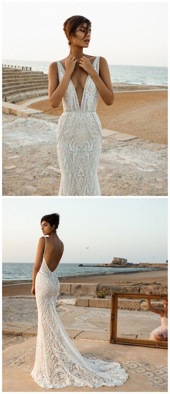 Superb Laceweddingdressesbohemian  Kleid Hochzeit