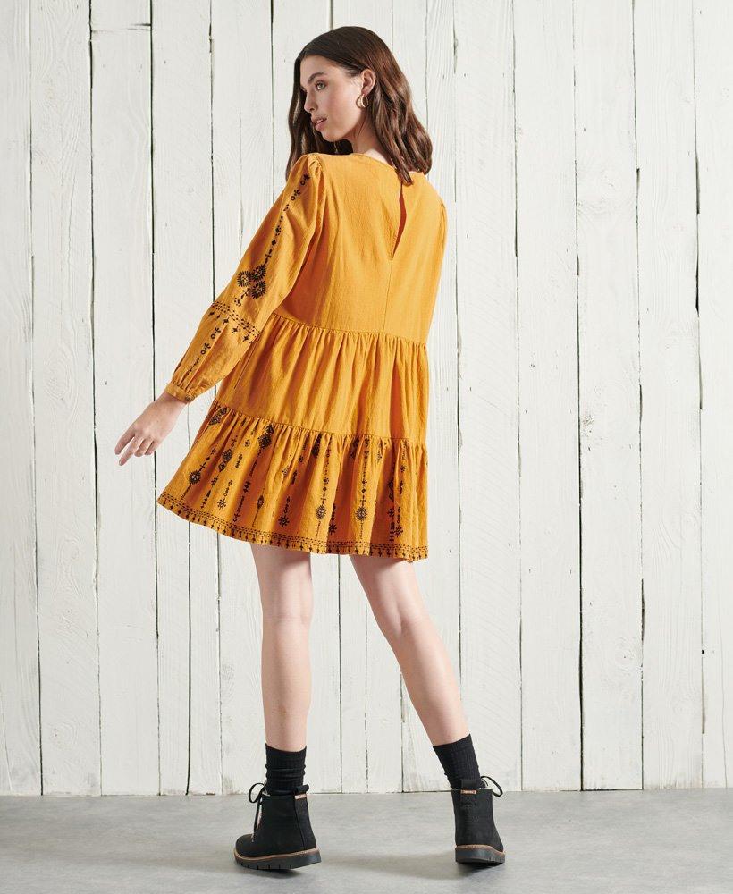Superdry Besticktes Anisa Kleid  Damen Kleider