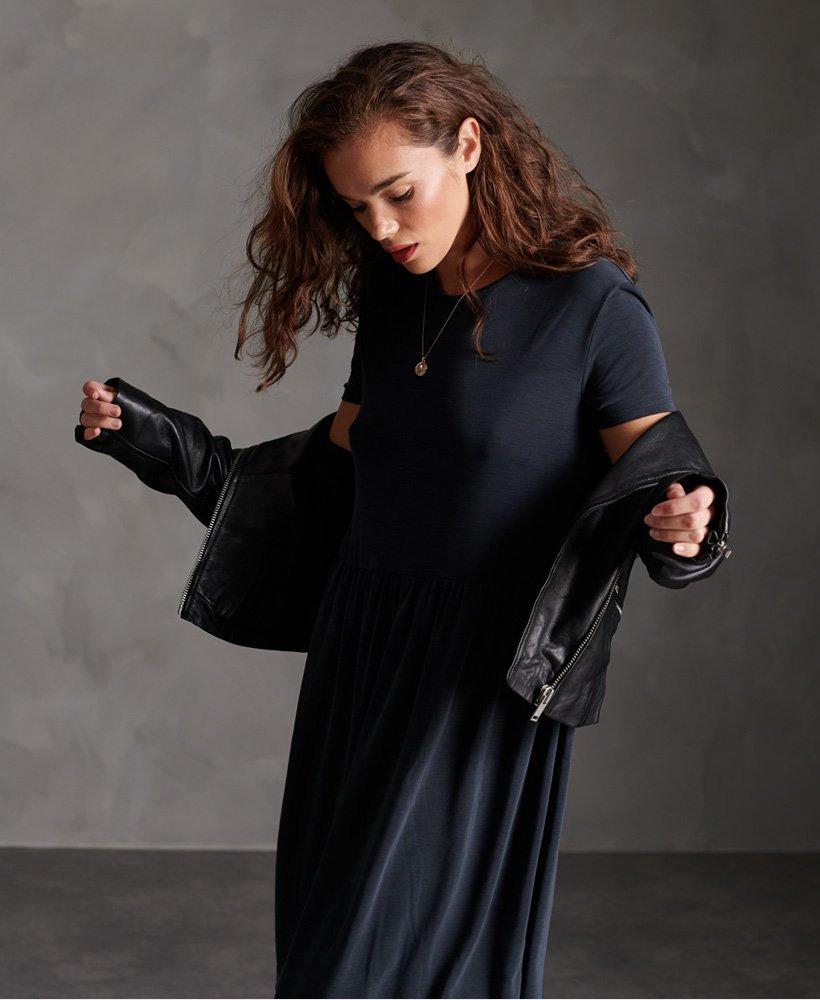 Superdry Gesmoktes Tshirtkleid  Damen Kleider