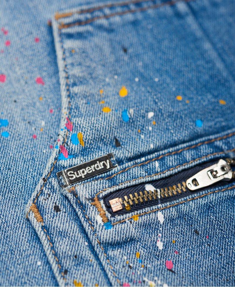 Superdry Jeanslatzkleid  Damen Kleider