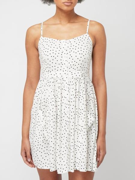 Superdry Kleid Mit Punktemuster In Weiß Online Kaufen