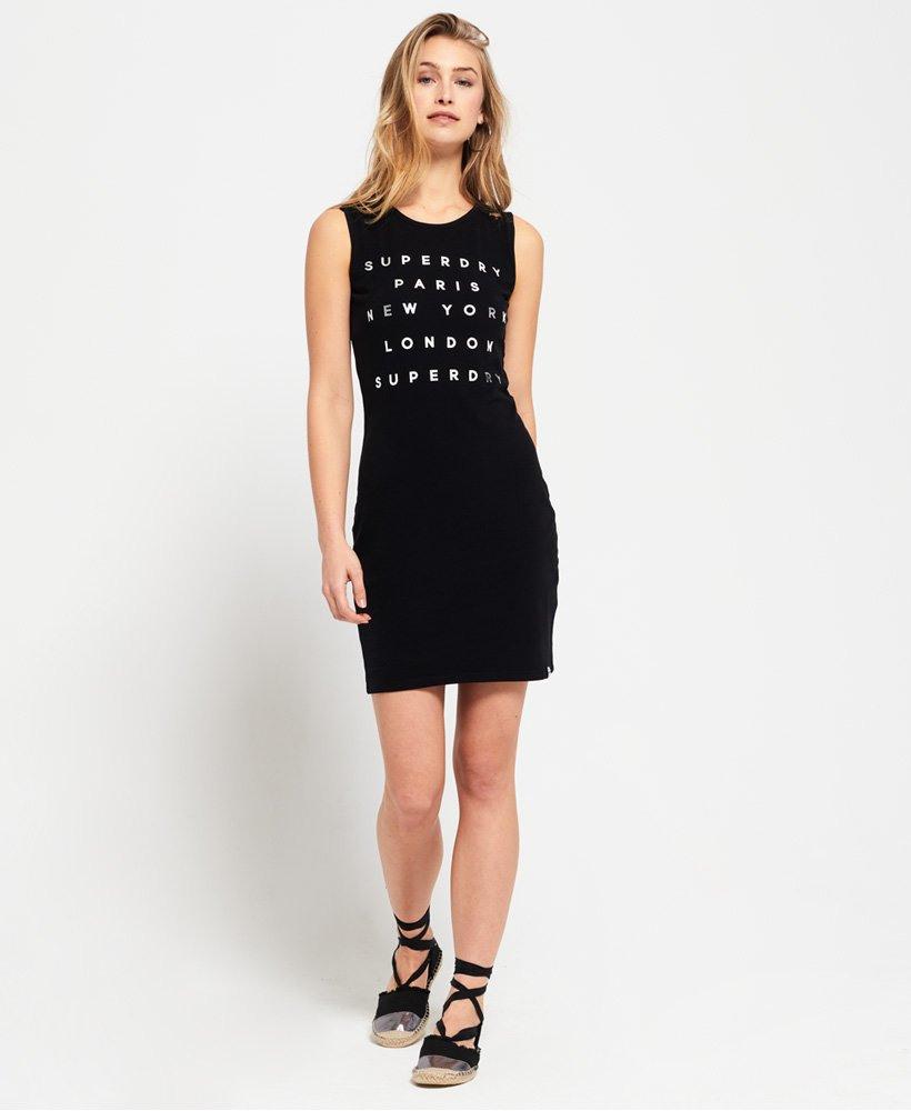 Superdry Kleid Mit Spitzenbesatz  Damen Kleider