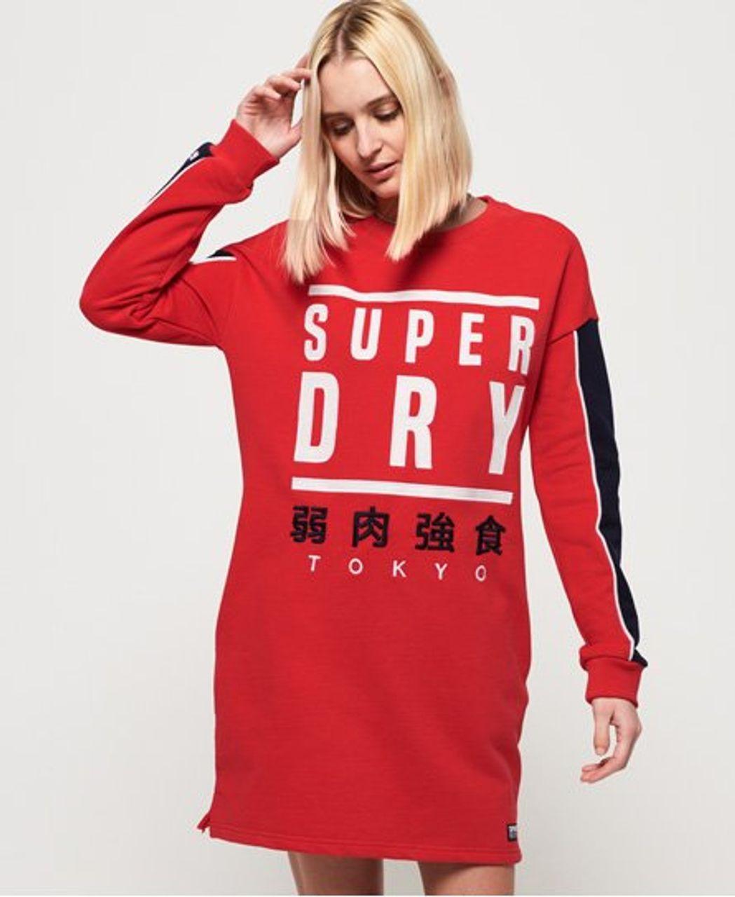 Superdry Sweatkleid Mit Grafikeinsatz 2144236000349N4L028