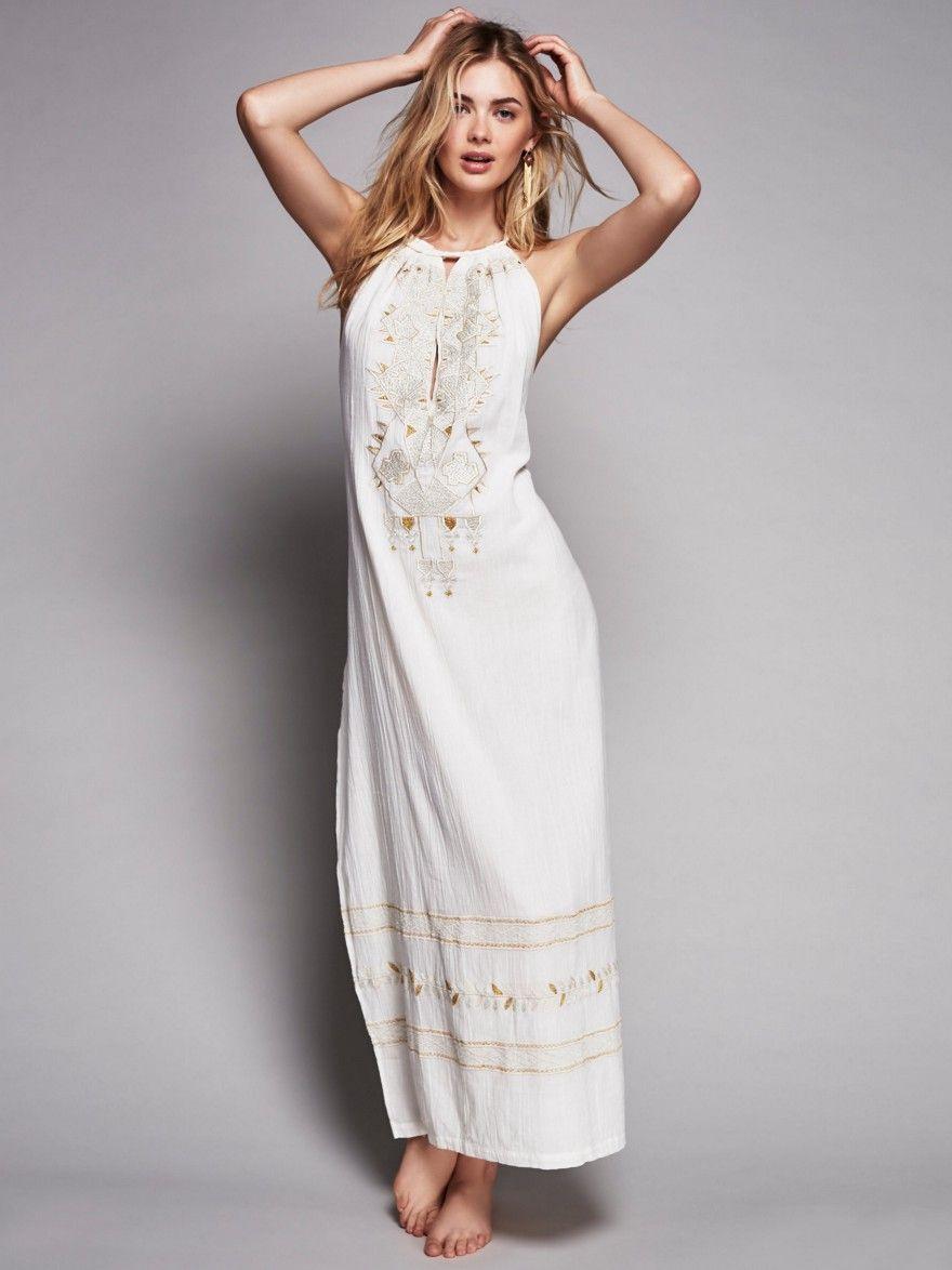 Suspended  Medium  Elegante Sommeroutfits Sommerkleid