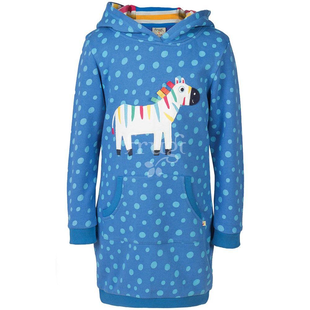 Sweatkleid Hoodie Dress Zebra Bei Heldenkind  Kind Mode