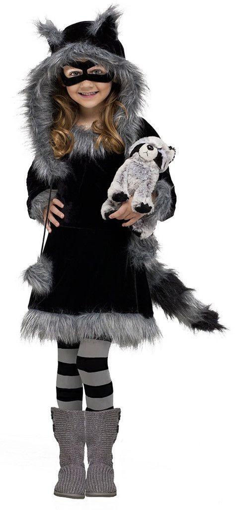 Sweet Raccoon Toddler Costume  Kinder Kostüm Kostüm