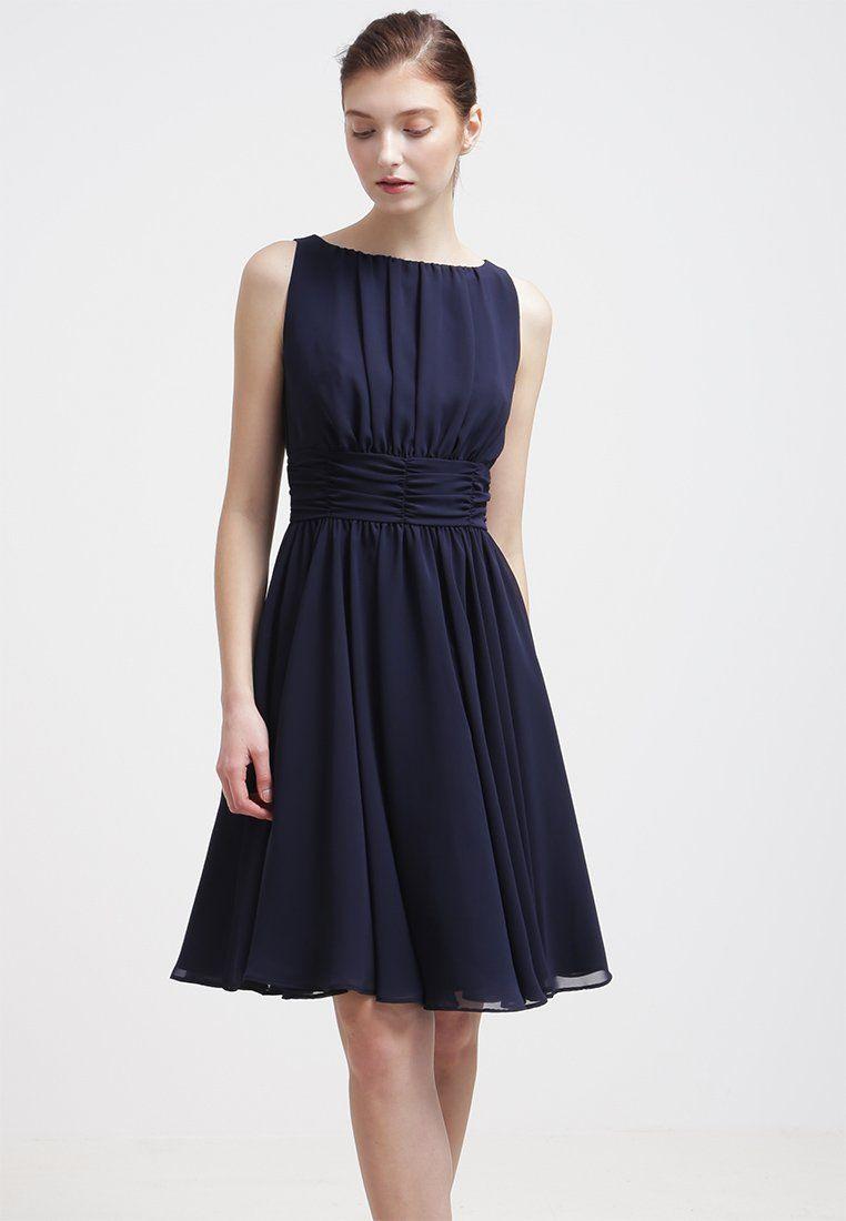 Swing Cocktailkleid / Festliches Kleid  Schwarzblau