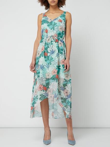 Taifun Kleid Mit Blättermuster In Grün Online Kaufen