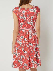 Taifun Kleid Mit Floralem Muster In Rot Online Kaufen