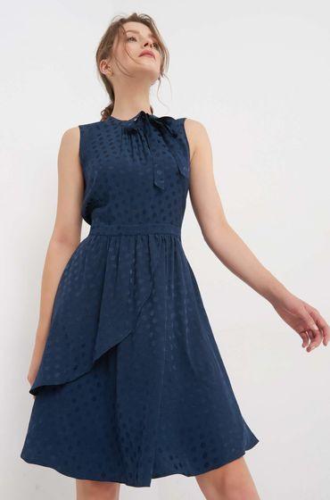 Tailliertes Kleid Mit Punkten  Clothes Mini Dress High