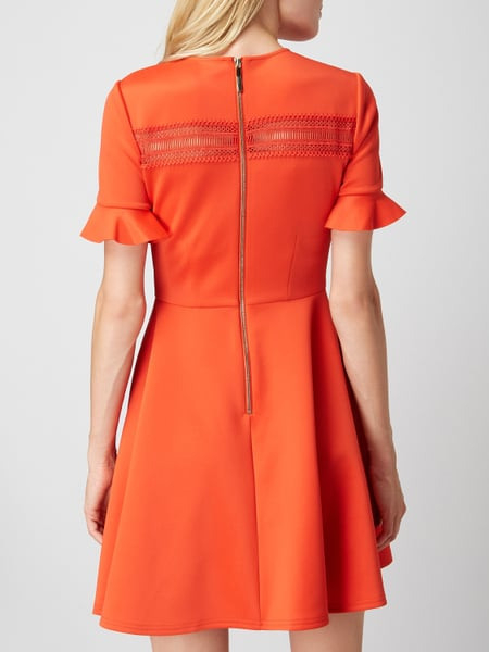 Ted Baker Kleid Mit Besatz Aus Häkelspitze In Rot Online