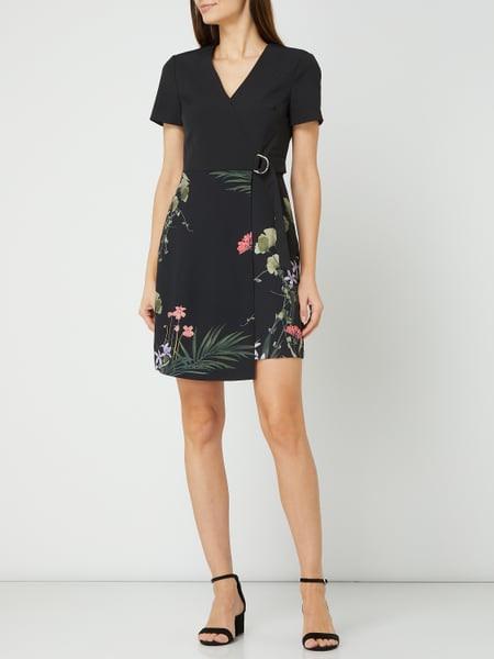 Ted Baker Kleid Mit Taillengürtel Modell 'Mizalia' In Grau